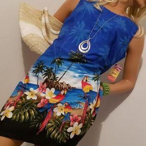 HAWAII USA APPAREL BAG & DRESS SIZE MED